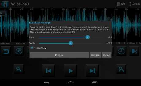 Download Voice PRO & HQ Audio Editor 4 0 29 Apk + Apk Mod