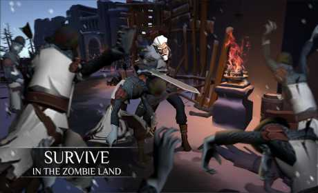 Winter Survival:after the last zombie war  Apk + Mod (Enemy Can't Move) + Data for Android